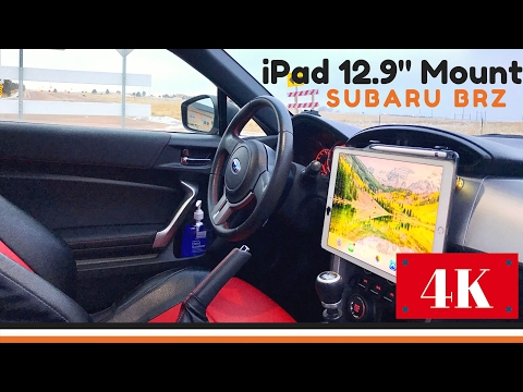 How to Mount iPad Pro 12.9 in Car