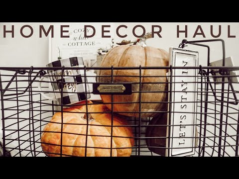 Home Decor Haul | Cozy Home Finds