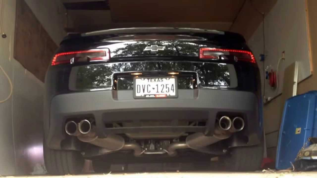 2014 camaro ss npp dual mode exhaust with fuse pulled. Black Bedroom Furniture Sets. Home Design Ideas