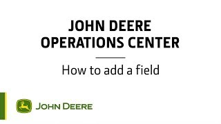 Operations Center  How to add a field