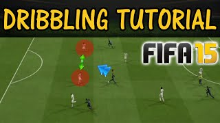FIFA 15 Dribbling Tutorial / The Face-Up Dribble SPEED BOOST / Most effective attacking moves UT&H2H