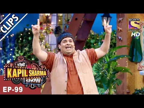 Doodhwala Meets Popular Punjabi Singer Hans Raj Hans  - The Kapil Sharma Show - 22nd Apr, 2017