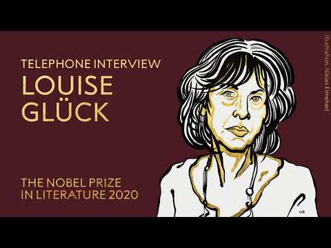 """Louise Glück: """"It's too new … it's too early here"""" - YouTube"""