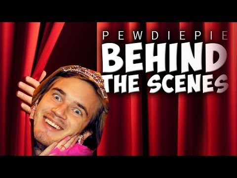 Thumbnail: BEHIND THE SCENES OF PEWDIEPIE