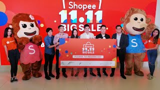 Shopee 11.11 Biggest Sale Of The Year Launch 24/10/2018