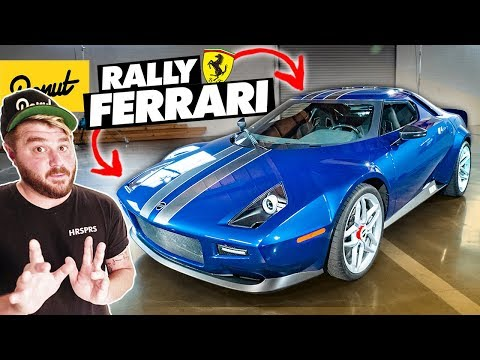 NEW Stratos - The Weird Ferrari-Powered Rally Car | Bumper 2 Bumper