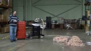 Attic Vac Insulation Removal Vacuum System (Overview / In Action) - www.ruwac.com