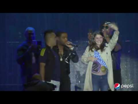 Zion & Lennox  Mi Tesoro Ft  Nicky Jam Live In Guatemala City