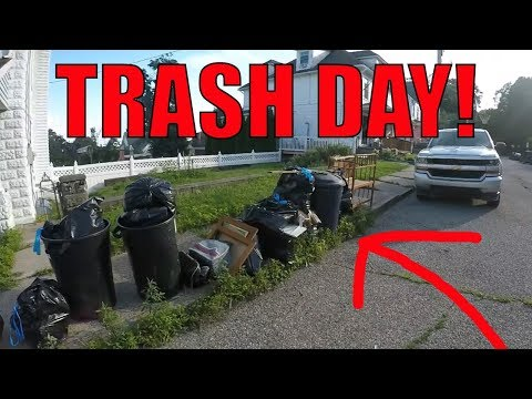 LOOK WHAT I FOUND IN THE TRASH! Garbage Picking Ep. 72