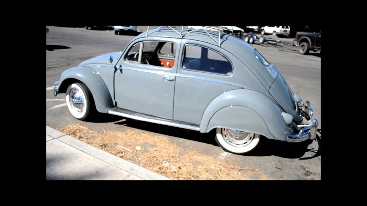 1955 VW Beetle For Sale - YouTube