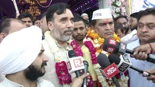 aap-west-delhi-candidate-files-nomination-for-upcoming-lok-sabha-election