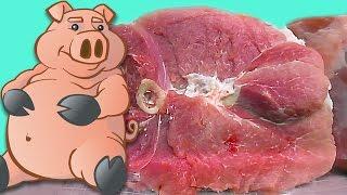 разделка свиного окорока. Два способа