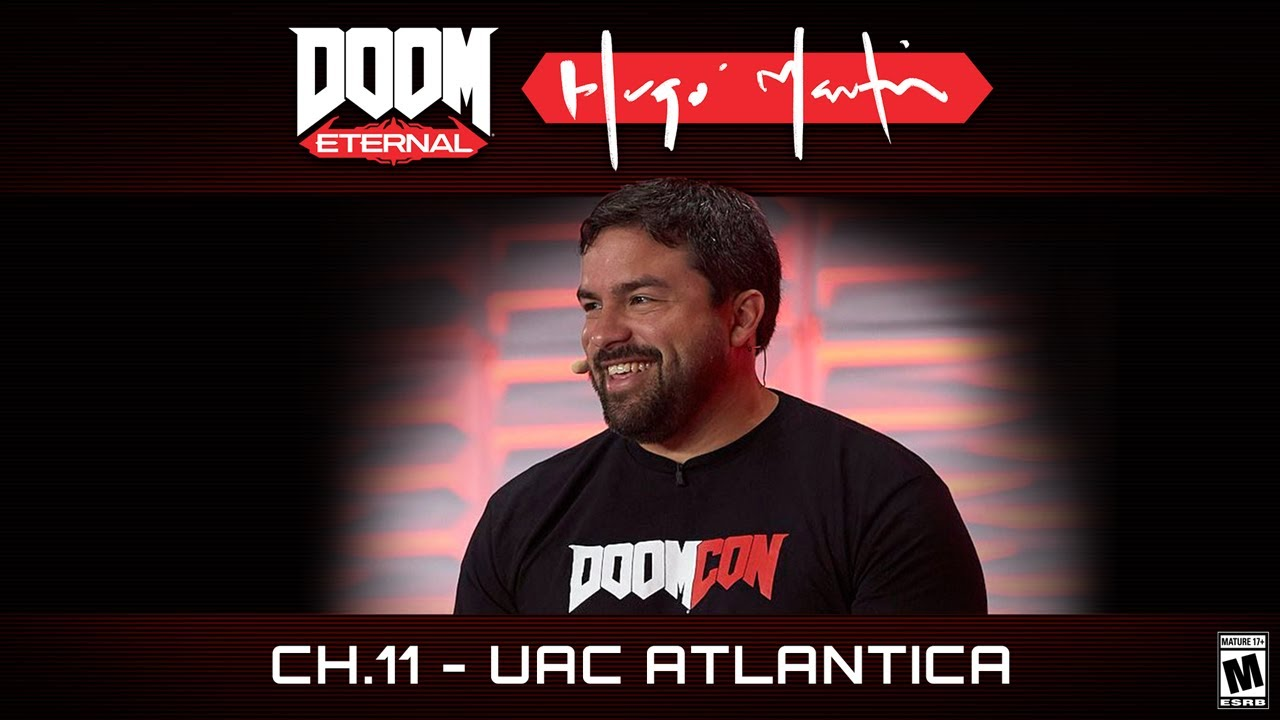DOOM Eternal: Hugo Martin's Game Director Playthrough - Ch.11 UAC Atlantica