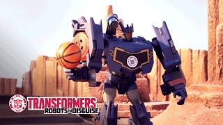 transformers robots in disguise soundwaves ultimate breakaway official stop motion video