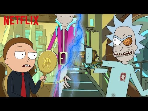 Las últimas noticias de Rick y Morty - Doblaje, Temporada 4, Comic.