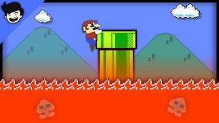 🍄Super Mario Bros. But the Floor is LAVA!!!🔥 [Mario Cartoon Animation]