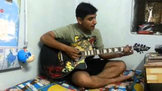 "a lovely love song ""tera mera pyar amar"" guitar"