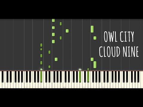 Owl City - Cloud Nine (Piano Cover & Tutorial)