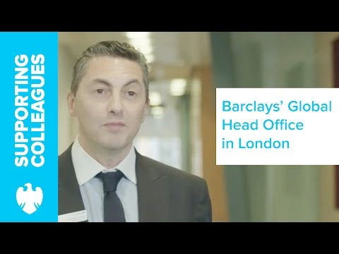 Behind the scenes at the Global Head Office in Canary Wharf   Barclays
