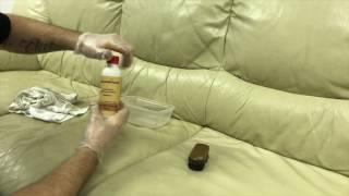 Ledertechnik - renovace kožené sedací soupravy