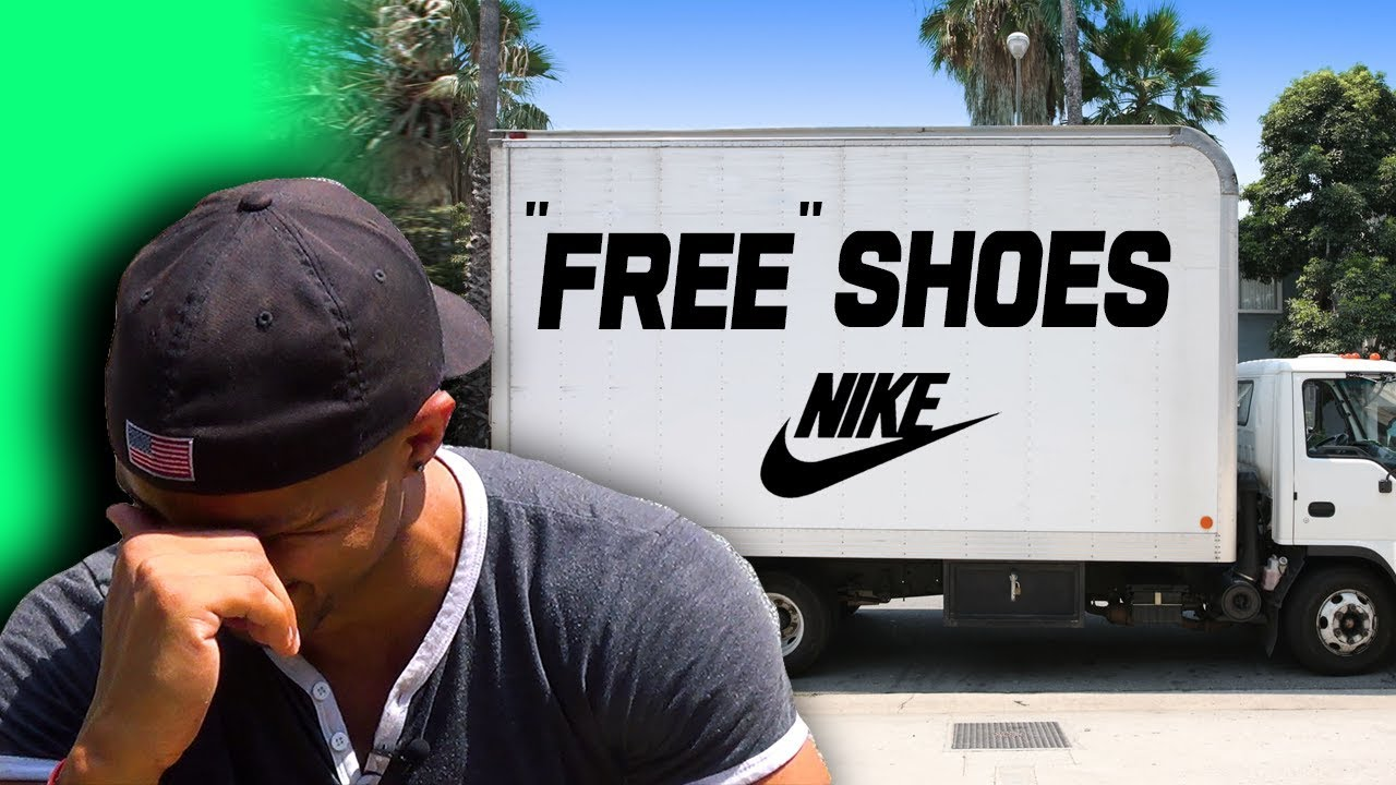 "Image result for ""bait truck"" filled with Nikes"