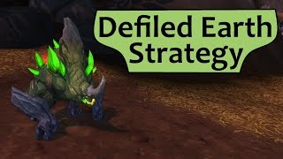 Defiled Earth: Tanaan Legendary Pet Battle Strategy Guide