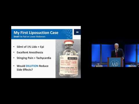 Tumescent Drug Delivery: Lidocaine and Beyond
