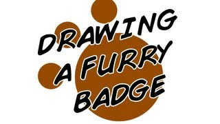Drawing a Furry Badge