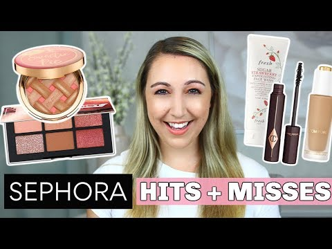 SEPHORA HITS & MISSES! *sorting out the hits from the.. 💩* thumbnail