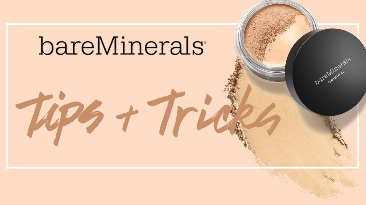 How To Create A Flawless Highlight & Contour  Bareminerals Tips & Tricks