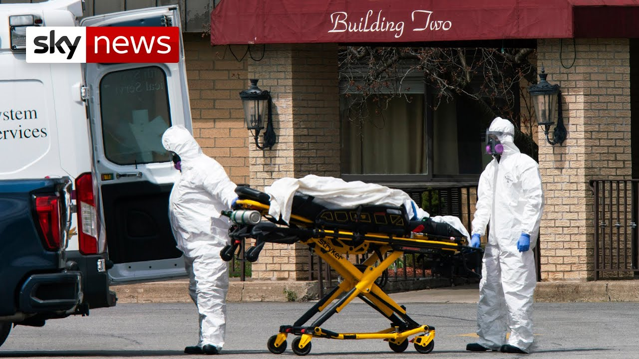 Coronavirus: Police find 'pile of bodies' at New Jersey nursing home