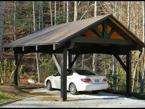 Carport Ideas | Building Your Own Wood Carport