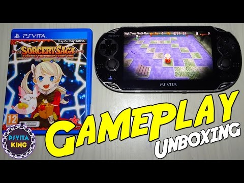Sorcery Saga: Curse Of The Great Curry God Vita GamePlay & Unboxing + Walkthrough