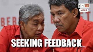 Zahid, Tok Mat not on same page over Malacca polls, reveals Ahmad Maslan