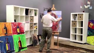 Carolina Studio Easel Demo