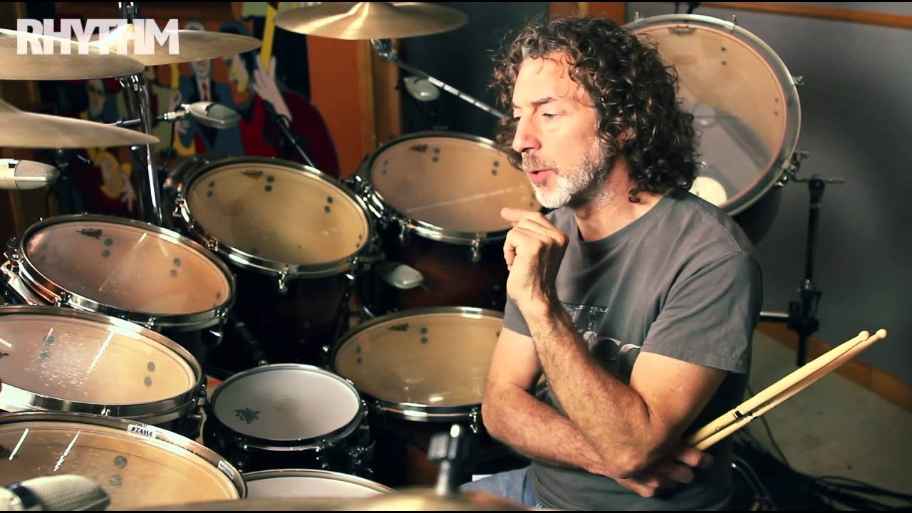 Simon Phillips drum lesson: recording tips