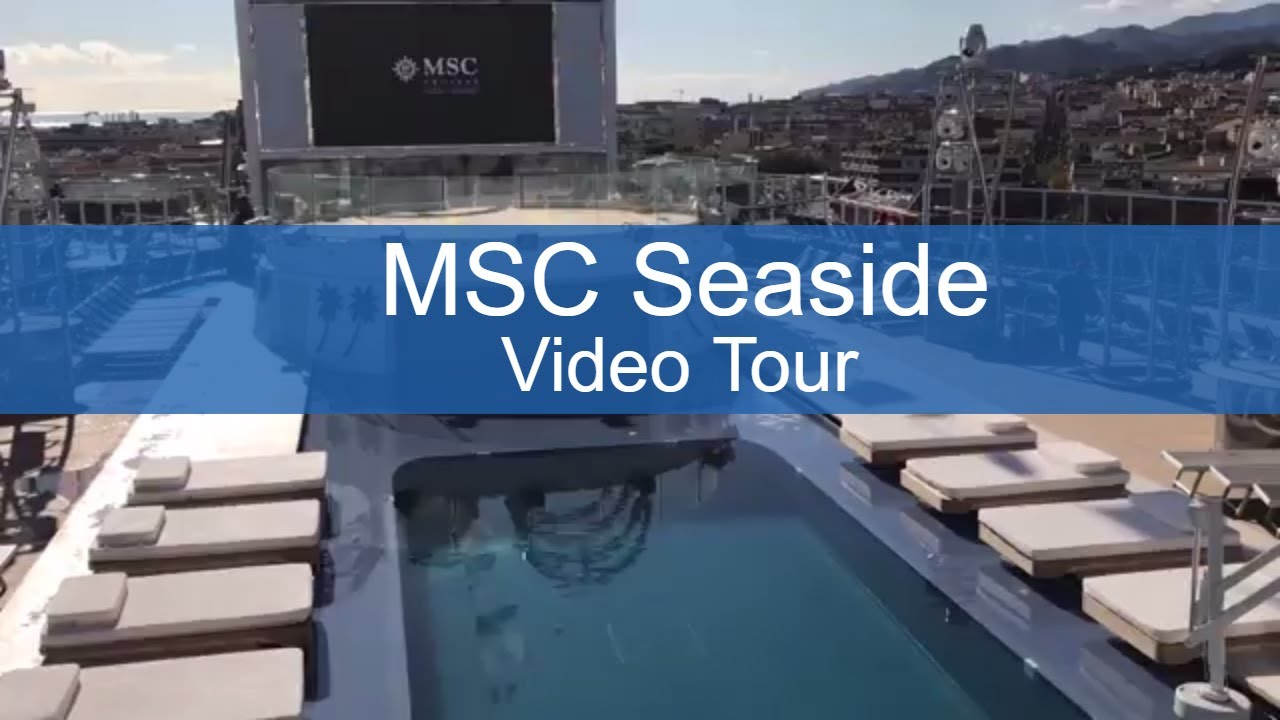 Live From MSC Seaside: How It's Doing Almost a Year After