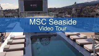 Take a virtual tour of the brand-new MSC Seaside, now sailing out o...