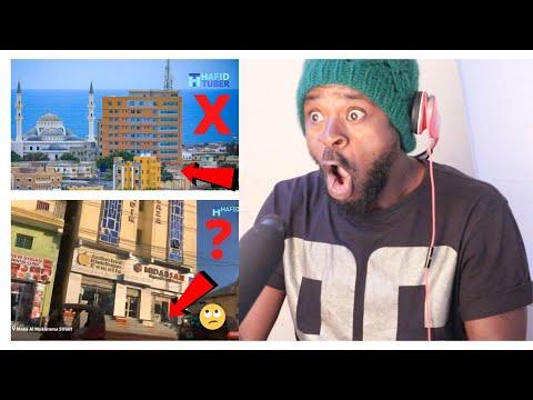 Ugandan Reacts To Mogadishu, Somalia Capital .- Mostly Empty Streets.Where Are The Pepple At.