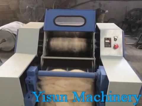 Roller Carding Machine For Wool