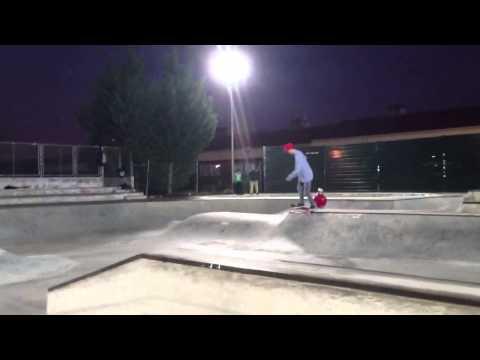 Juanan Centenero Ronda en el skatepark de Móstoles