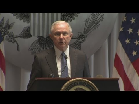 AG Sessions Discusses MS-13 On Long Island