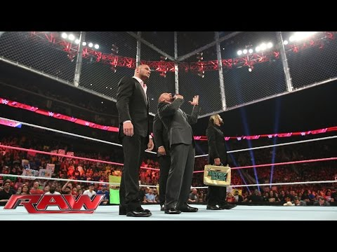 The Authority adds a major stipulation to Cena vs. Orton at Hell in a Cell: Raw, Oct. 20, 2014