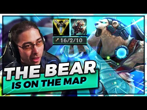 THE BEAR.... IS ON THE MAP!   VOLIBEAR JUNGLE KNOCKIN EM ALL OUT - Trick2G