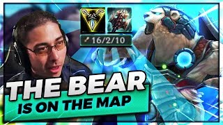 THE BEAR.... IS ON THE MAP! | VOLIBEAR JUNGLE KNOCKIN EM ALL OUT - Trick2G