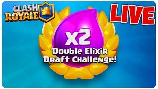 Double Draft Challenge cu Boddy   Clash Royale LIVE