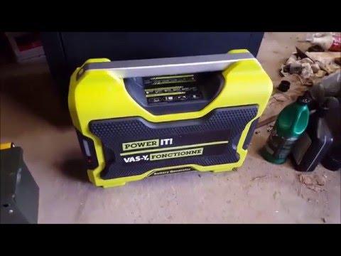 Power It Lithium Battery Generator - YouTube