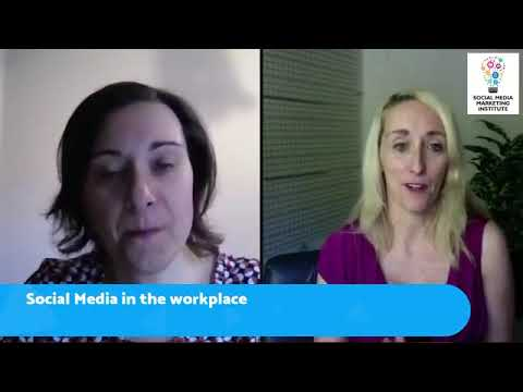 Social Media in the Workplace - Mireille Ryan interviews Anna Cairo