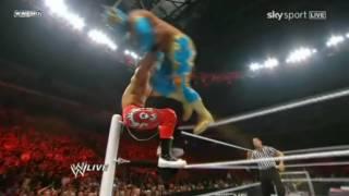 Sin Cara (Mistico) vs Primo (11-4-10)[Sin Cara (Mistico) first match in WWE ]