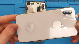 iPhone X Housing Replacement - complete renewal (detailed video 4K)